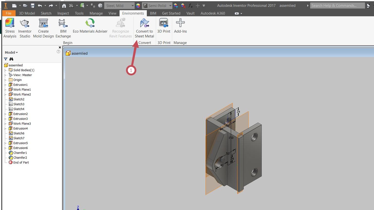 Autodesk Inventor Заваръчни съединения Аула